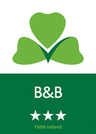Fáilte approved 3-star B&B